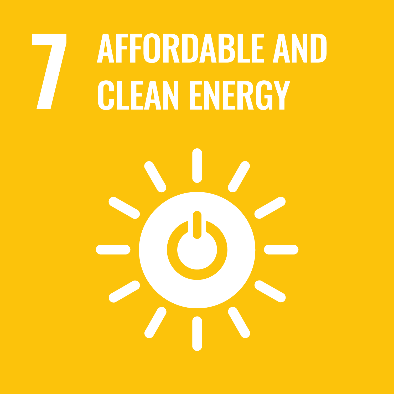 07. affordable & clean energy