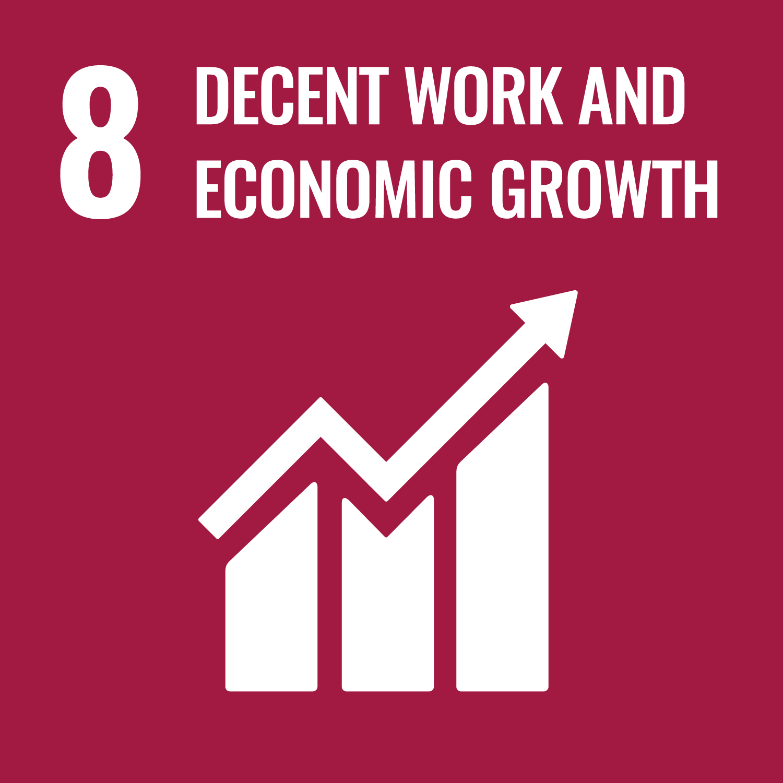 08. decent work & economic growth